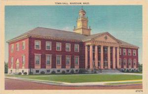 Massachusetts Wareham Town Hall