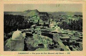 Algeria Langhouat Fort Morand Cote Ouest General view Postcard