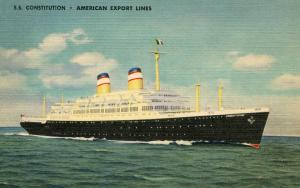 American Export Lines - SS Constitution