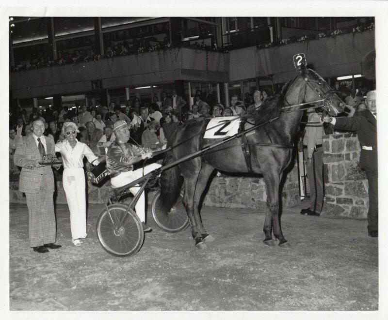 SARATOGA, Harness Horse Racing, MITHE wins