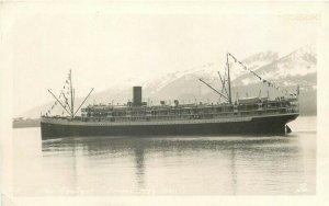 Steamship Aleutian, AK, Juneau, Alaska, RPPC