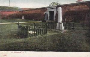 South Carolina Fort Mouitrie 1909