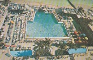 Florida Miami Beach The Sherry Frontenac Swimming Pool 1956