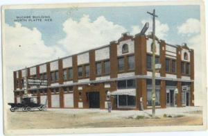 W/B McCabe Building in North Platte Nebraska NE 1916
