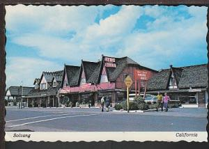 Solvang CA Postcard BIN