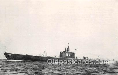 Reproduction - Submarine - USS Snapper SS 185 Commissioned 1937 Ship Postcard...