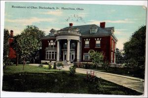 OH - Hamilton. Residence of Charles Diefenbach Jr.