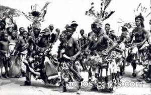 Mweks (Congo Belge) African Nude Nudes Postcard Post Card  Mweks (Congo Belge)