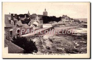 Postcard Old Piriac Vue Generale Du Bourg And Quays