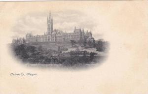 University, Glasgow, Scotland, UK, 1900-1910s