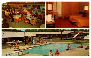 North Carolina Rocky Mountain Quality Courts Motel Coral and Restaurant