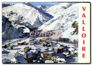 Postcard Modern Valoire Aerial view the Station Center Le Cret Rond