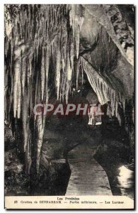 Old Postcard The Pyrenees Betharram Caves Of Tears Part Inferieure
