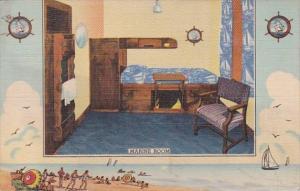 Illinois Chicago Y M C A Hotel Marine Room Curteich