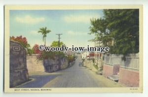 ft1441 - Bahamas - West Street , Nassau - postcard