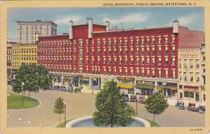 New York Rochester Watertown Hotel Woodruff Public Square 1989