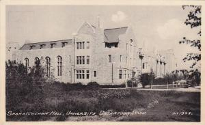 Exterior,Saskatchewan Hall,University,Saskatoon ,Saskatchewan,Canada,00-1 0s