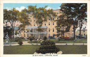25192 ME, Lewiston, De Witt Hotel