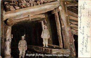 Postcard MI Houghton Co Champion Copper Mine South Range RARE 1908 L17