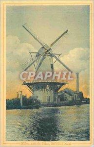 Postcard Old San Rotterdam Molen of Sohie Mill