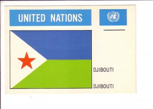 Djibouti Flag, United Nations