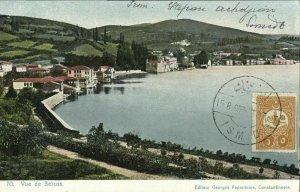 ottoman turkey, CONSTANTINOPLE, Vue de Beïcos (1908) Postcard