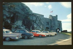 Wilmington, New York/NY Postcard, Approach To Whiteface Mountain, 1950's Cars