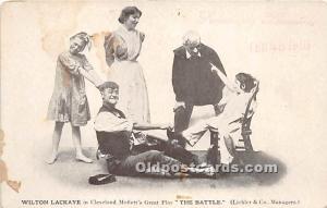 Wilton Lackaye, The Battle Theater Actor / Actress Unused