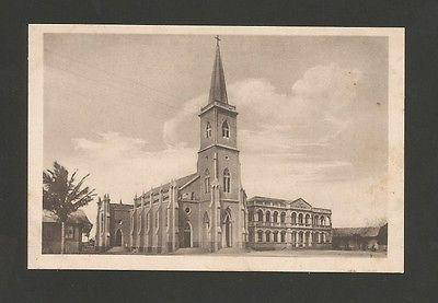 Postcard1940s AFRICA MOZAMBIQUE MOÇAMBIQUE BEIRA CATHEDRA...