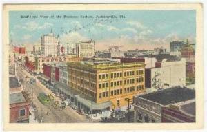 Aerial, Business Section,Jacksonville, FL, 22