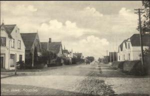 Kolding Denmark Street Scene c1910 Postcard