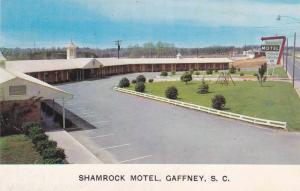 Exterior,  Shamrock Motel,  Gaffney,  South Carolina,  40-60s