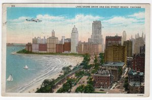 Chicago, Lake Shore Drive and Oak Street Beach