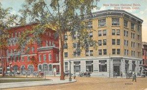 LP18 New Britain  Connecticut Postcard National Bank