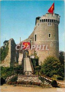 Postcard Modern Normandy The Château de Robert le Diable (XI) Moulineaux (SML)