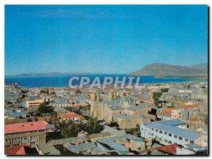 Postcard Modern Vista Panoramica de la Ciudad y Lago Titicaca Puno Puno Peru