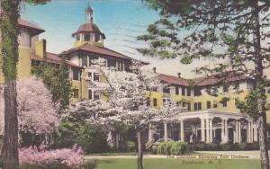 The Carolina Showing Port Cochere, Pinehurst, North Carolina, PU-1938