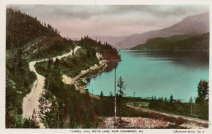RP: CRANBROOK , B.C. , Canada , 1920-40s; Tunnel, Hill, Moyie Lake