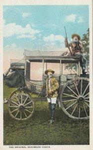 LOOKOUT MOUNTAIN, Colorado, 1910-1920s; The Original Deadwood Coach