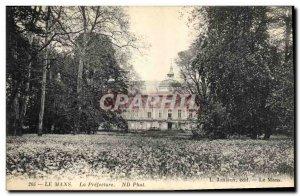 Old Postcard Le Mans Prefecture