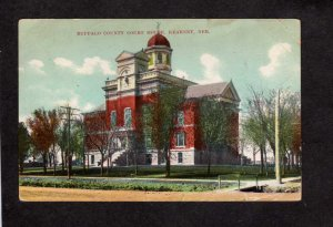 NE Buffalo County Court House Kearney Nebraska Vintage Postcard