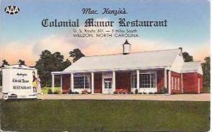 NC Weldon Colonial Manor Court