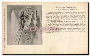 Postcard Old Tales Fraimbois Thieves apostles