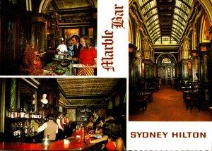 Australia Sydney The Sydney Hilton Dining Room and Marble Bar