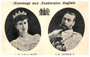 21850 Canada  Hommage aux Souverains AnglaisMary and George V