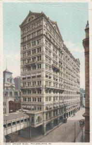 PHILADELPHIA, Pennsylvania, 1900-10s ; Arcade Building