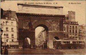 CPA PARIS 3e - La Porte Saint-Martin (54091)