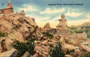 North Dakota Badlands Cathedral Buttes