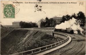 CPA  Saint-Brieuc - Les Nouveaux Boulevards - Le Palais de Justice (381337)