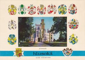 Czechoslovakia Zamek Hluboka Nad Vltavou